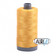 Aurifil 28 Cotton Thread - 2132 (Mustard Yellow)